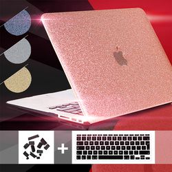 For macbook air 13 case Shine Glitter Laptop Case,for macbook air 13 hard case 11 12 13 15inc new touch bar A1706 A1708 A1707