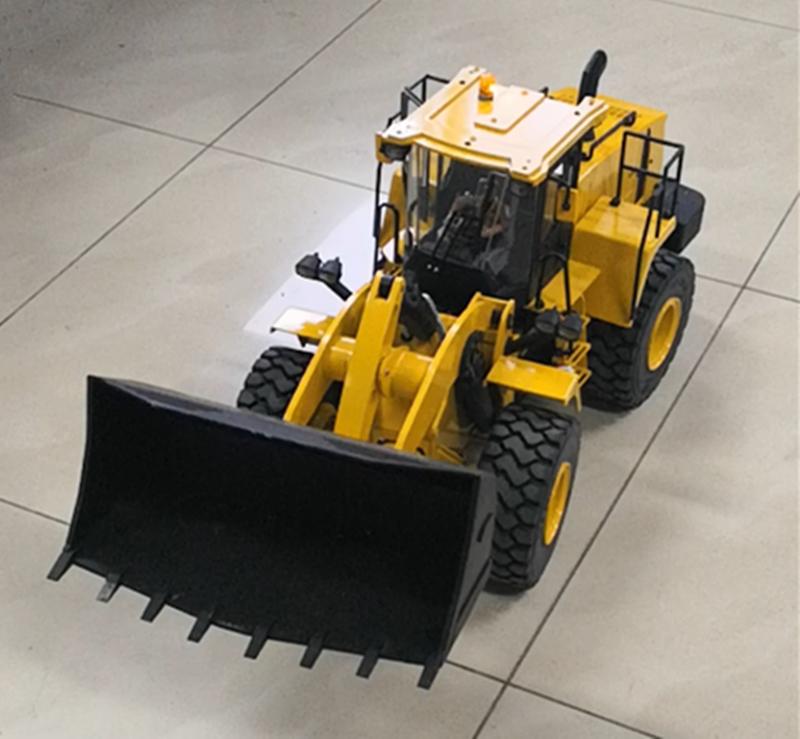 1/14 RC Fernbedienung Hydraulische Bulldozer Radlader Bau Fahrzeug Modell Kind Junge Weihnachten Geschenke
