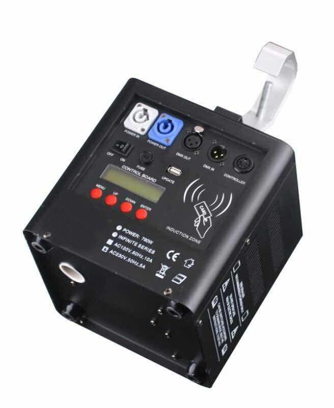 Rasha Hot Sale Downside Wireless DMX512 Stage Cold Spark Machine Titanium Powder For Wedding Club Party Flame Fire Machine