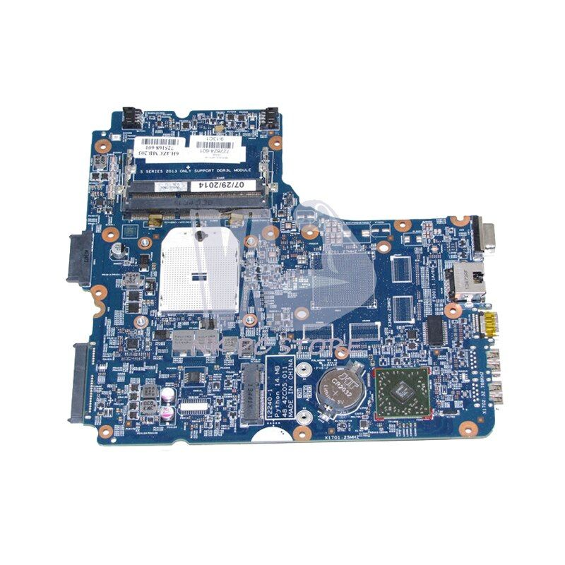 NOKOTION For HP ProBook 450 G1 455 Laptop Motherboard 722824-601 722824-001 722824-501 48.4ZC05.011 Socket FS1 DDR3
