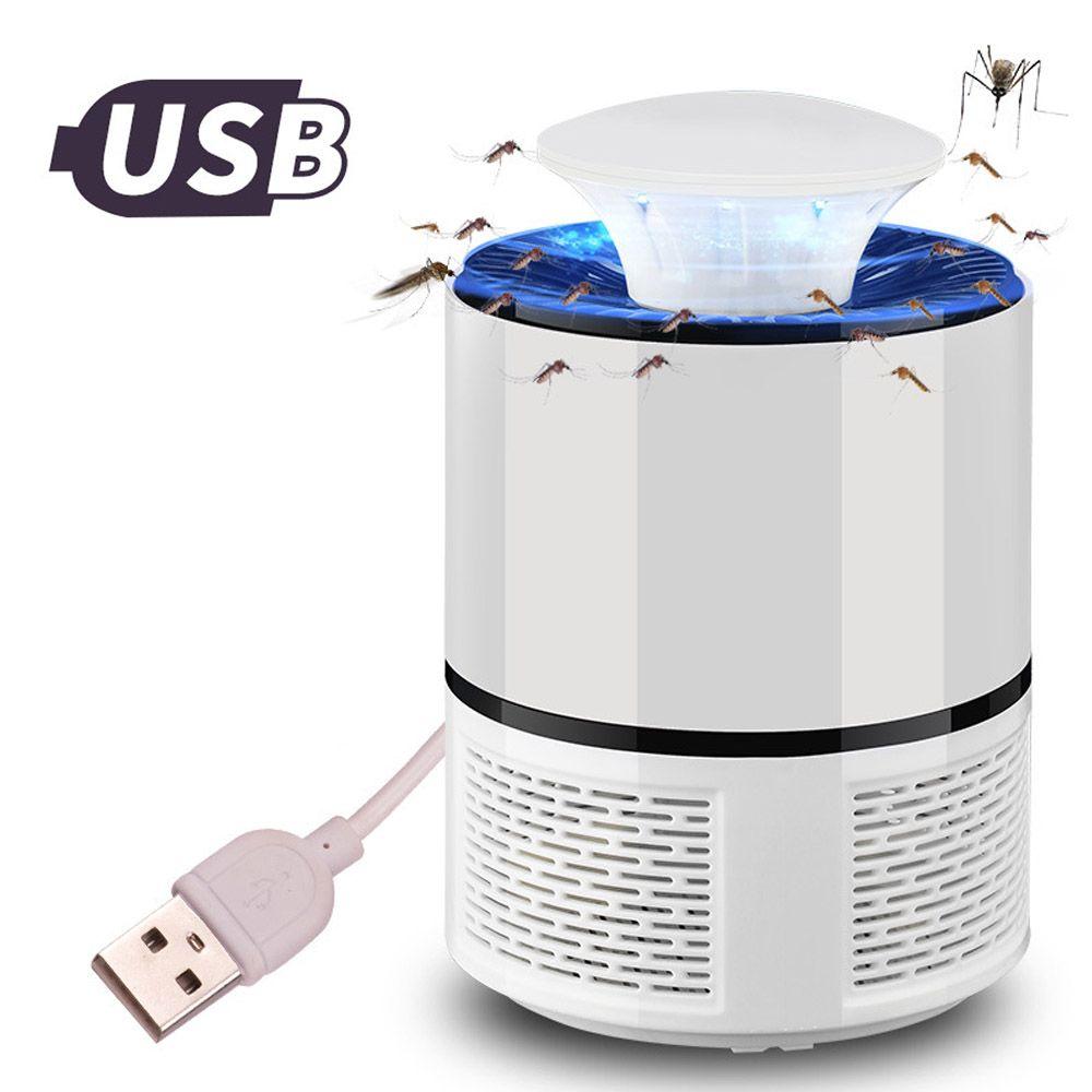 ETONTECK USB lampe tueur de moustiques électrique anti moustique piège LED veilleuse lampe insecte tueur lumières répulsif antiparasitaire