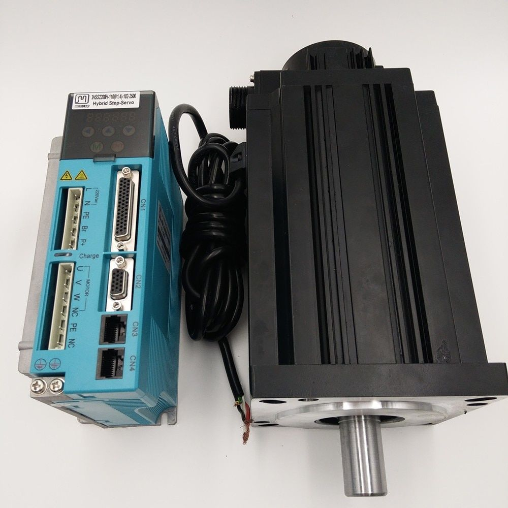 3 phase 130mm closed loop stepper kit NEMA54 28NM 7.5A closed loop Stepper Motor+Drive Kit 130J12205EC-2500+3HSS2208H
