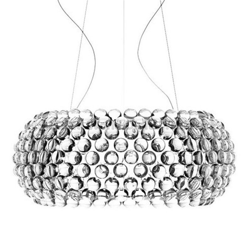 Moderne salon acrylique RS7 ampoule suspension lumières luminaire salle à manger Foscarini Caboche Dia35/50/65 CM clair or suspension