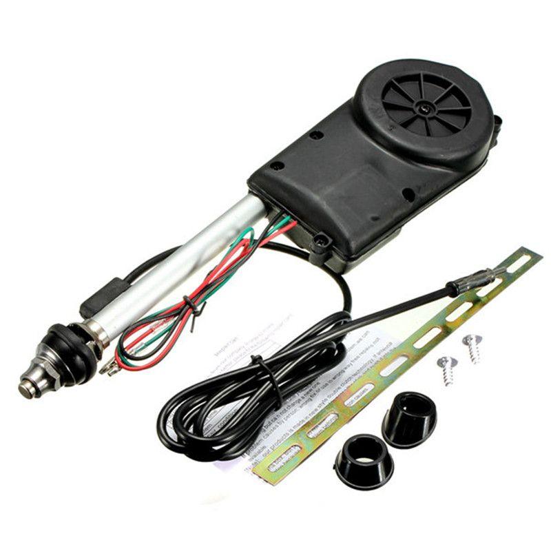 Universal Retractable Antenna Car Aerial Antenna Electric Radio Carro 12V FM/AM Automatic Aerial Retractable Antenna 2016 New