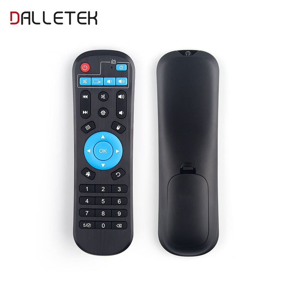 Dalletektv Remote Control For Android TV Box LEADCOOL/Q9/Q1304/Q1404/Q1504/R1/R2 Smart TV Android TV box