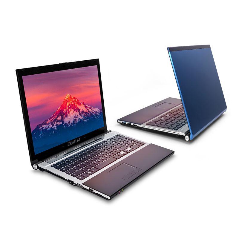 ZEUSLAP 15,6 zoll Intel Core i7 CPU 8 GB + 64 GB + 500 GB 1920*1080 P FHD WIFI Bluetooth DVD-ROM Windows 7/10 Laptop Notebook-Computer