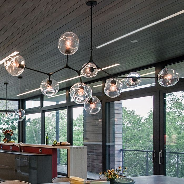 Lindsey Adelman Globe Branching Bubble Chandelier Modern Chandelier Light Lighting Included LED Dimmable Bulbs +Free shipping!