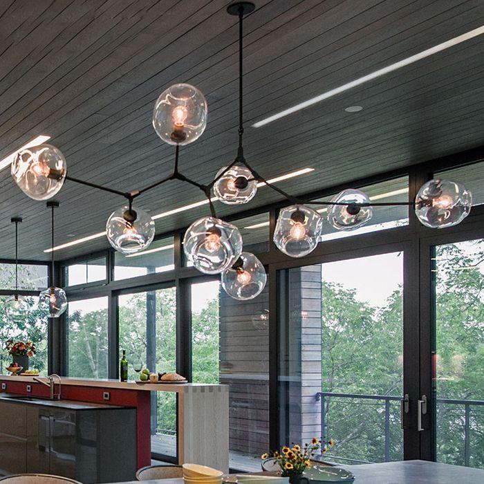 Lindsey Adelman Globus Verzweigung Blase Kronleuchter Moderne Kronleuchter Licht Beleuchtung Enthalten LED Dimmbare Lampen + Freies verschiffen!