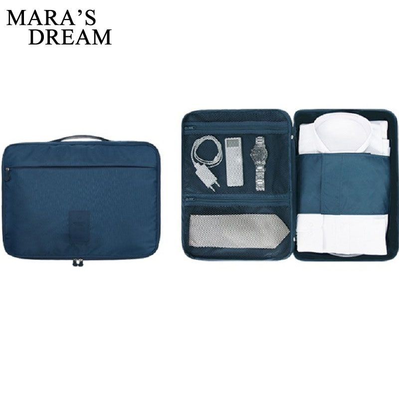 Mara's Dream Fashion Multifunctional Travel Garment Packing Cube Luggage Suitcase Portable Type Shirt And Tie Finishiing Package
