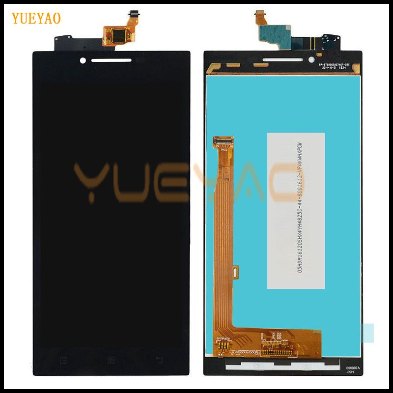 YUEYAO 5.0'' LCD Screen For LENOVO P70 LCD Display Touch Screen Digitizer Replacement Parts P70 A P70-A P70A LCD