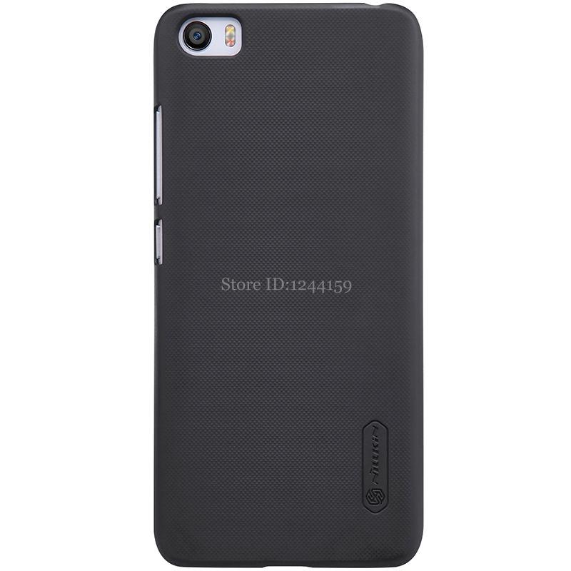 Xiaomi mi5 cas xiaomi m5 couverture NILLKIN Super Givré Bouclier mat revêtement arrière coque pour xiaomi mi 5 pro prime avec cadeau