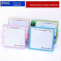 Multi-función mensaje pizarra 23*23 cm borrable tablero de dibujo de los niños