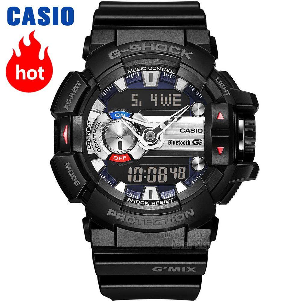 Casio uhr G-SHOCK männer Quarz Sport Uhr intelligente Musik Bluetooth Wasserdicht g shock Uhr GBA-400