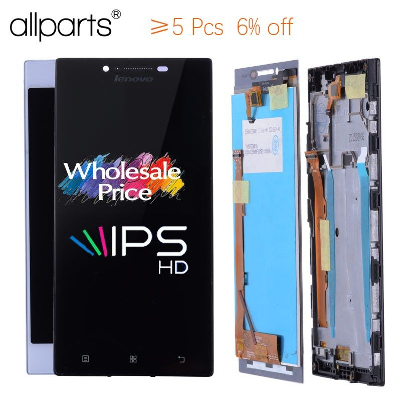 ORIGINAL5.0'' IPS LCD For LENOVO P70 LCD Touch Screen Digitizer Replace Parts P70 A P70-A P70A For LENOVO P70 Display