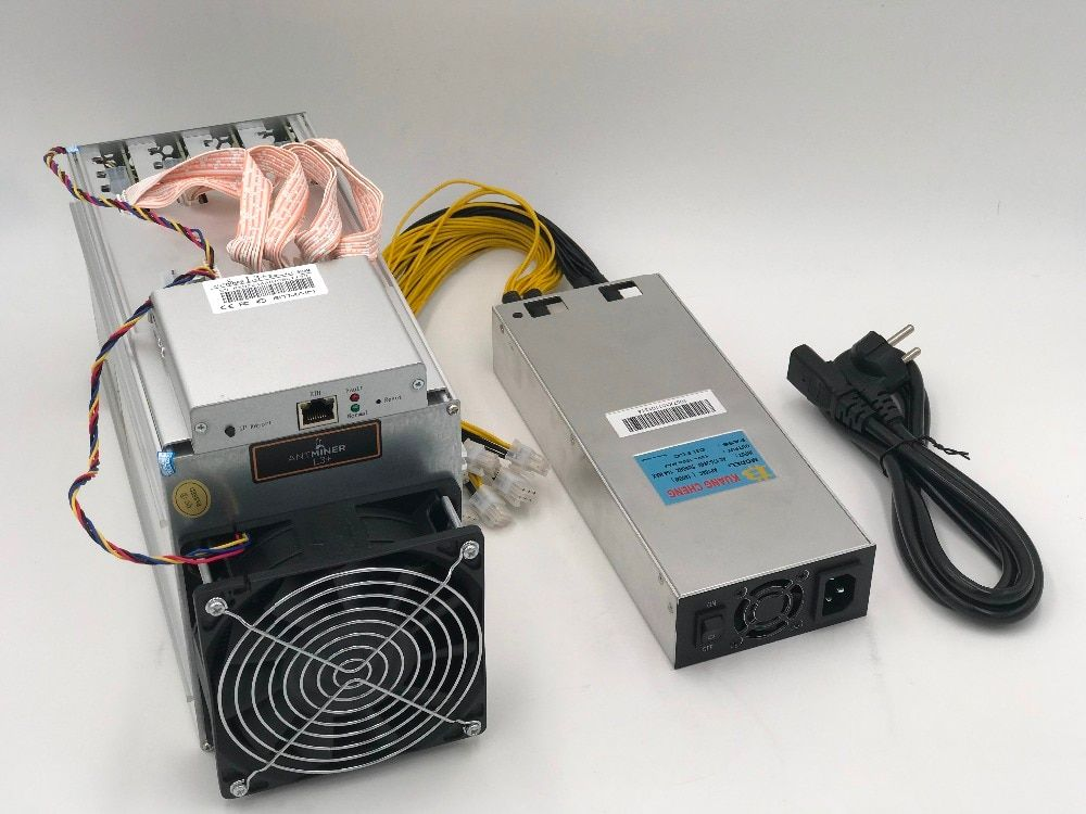 KUANGCHENG Spot ASIC chip miner ANTMINER L3+ LTC 504M scrypt miner LTC Mining Machine 504M 800W on wall Better Than ANTMINER L3