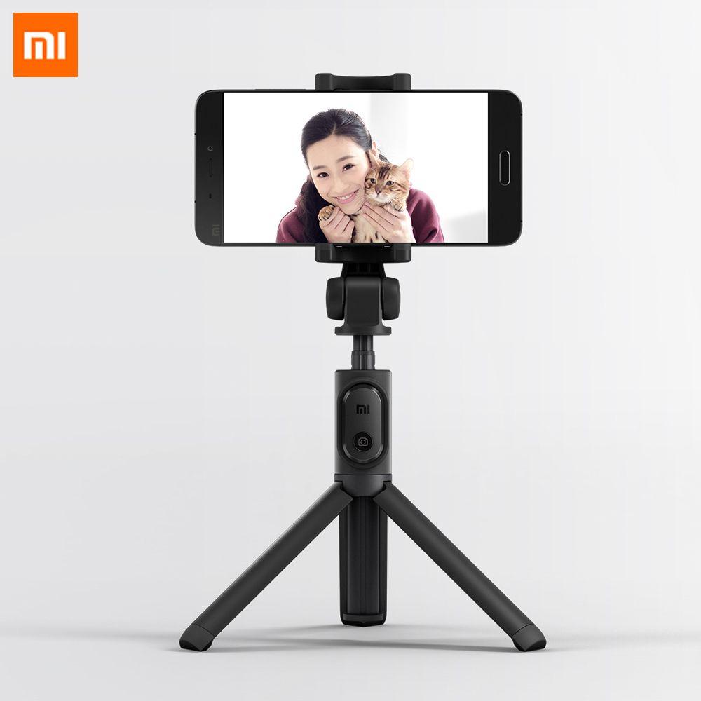Original Xiaomi pliable trépied monopode Selfie bâton Bluetooth avec bouton sans fil obturateur Selfie bâton pour iOS/Android/Xiaomi