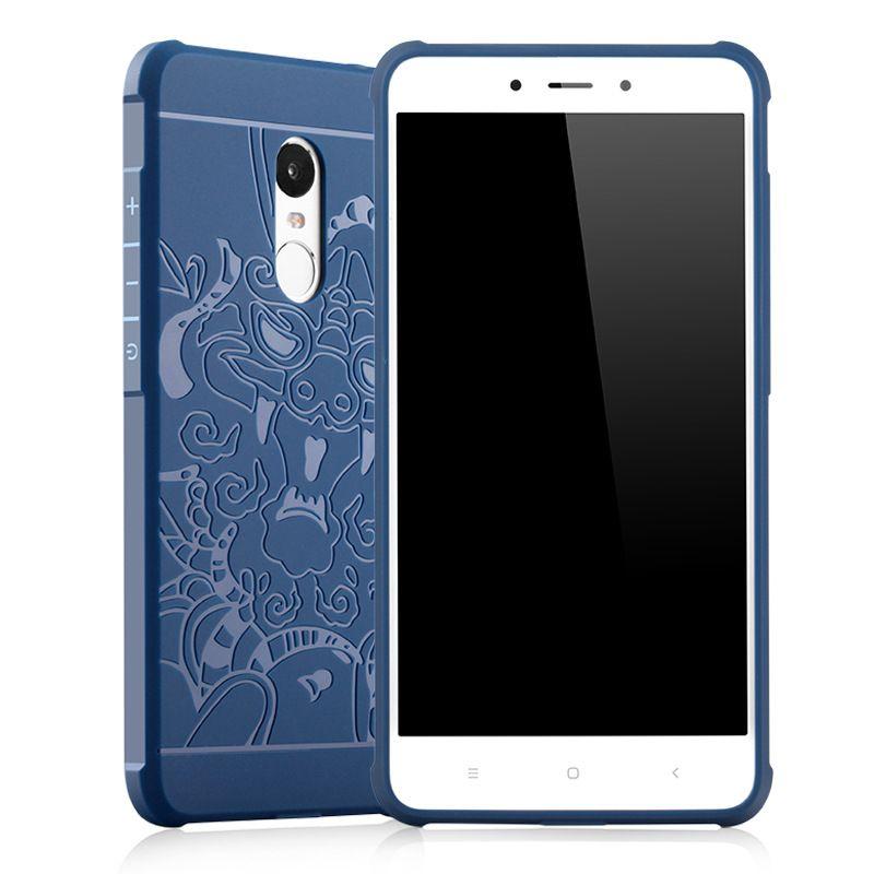 Cas de Téléphone de protection pour Xiaomi Redmi 4X Haute qualité Silicone Dur De Protection Couverture Arrière De Téléphone Portable Cas Téléphone Shell