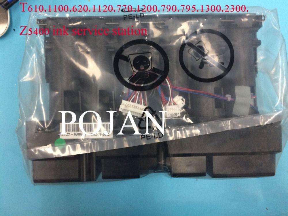 Q6683-60188 Left ink supply station for Designjet T610 T620 T770 T790 T1100 T795 PS Q6683-60188 ink printhead Plotter part POJAN