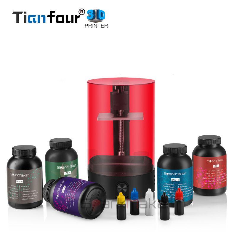 Tianfour Sparkmaker UV Harz SLA/DLP/LCD 3d drucker