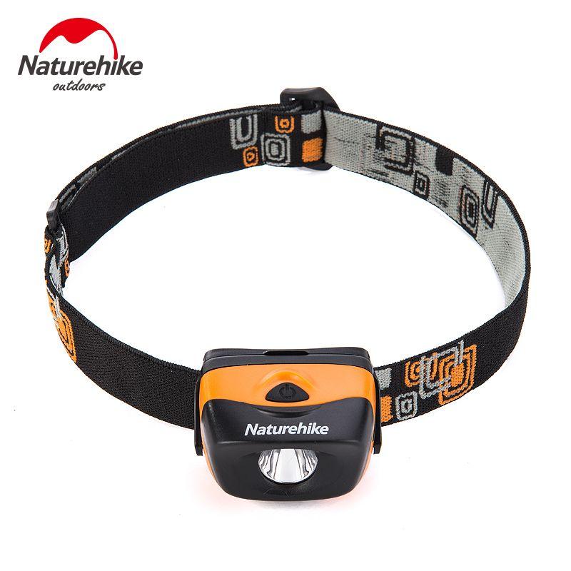 Naturehike Ultralight Outdoor Headlamp Waterproof Camping Hiking Travelling Multi-usage LED Light PK PETZL Tent Accessaries