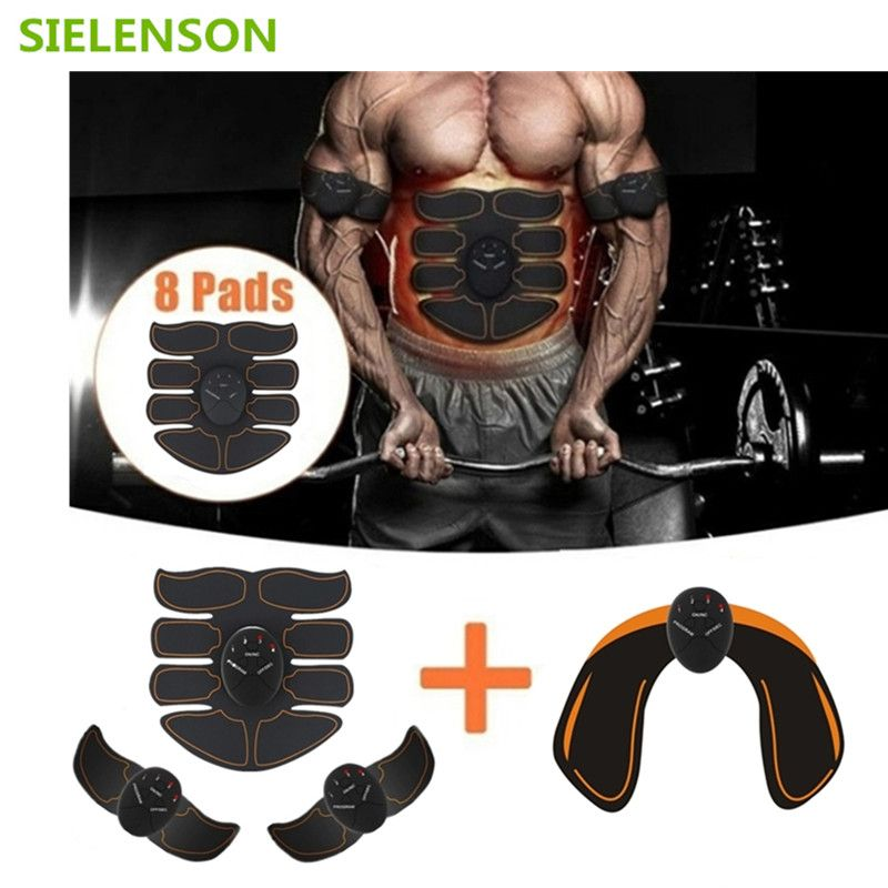 6 Mode Smart Electric muscle stimulator Abdominal ABS ems Hip Trainer fitness Buttocks Shaper Weight loss slimming Massage