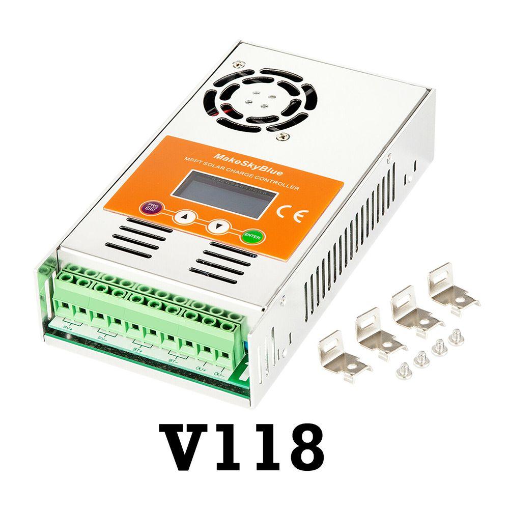 MakeSkyBlue MPPT Solar Charge Controller for 12V 24V 36V 48V 72V 96V AGM Lifepo4 Lithium Battery Not PWM Charger Regulator