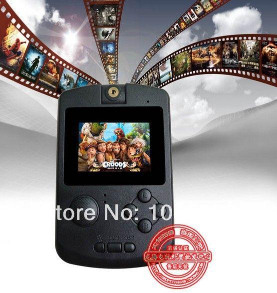 PMP V MP3, MP4, FM, Media Center, Videospiel-konsole mit 100 + Spiele, 2,2
