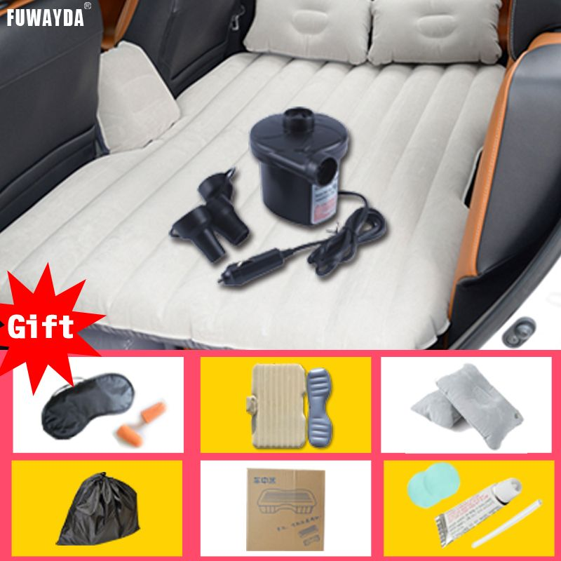 FUWAYDA car seat covers bed mattress Inflatable Travel Party Car Bed for back seat Bed Cushion DHL TNTRU FREE SHIPPING