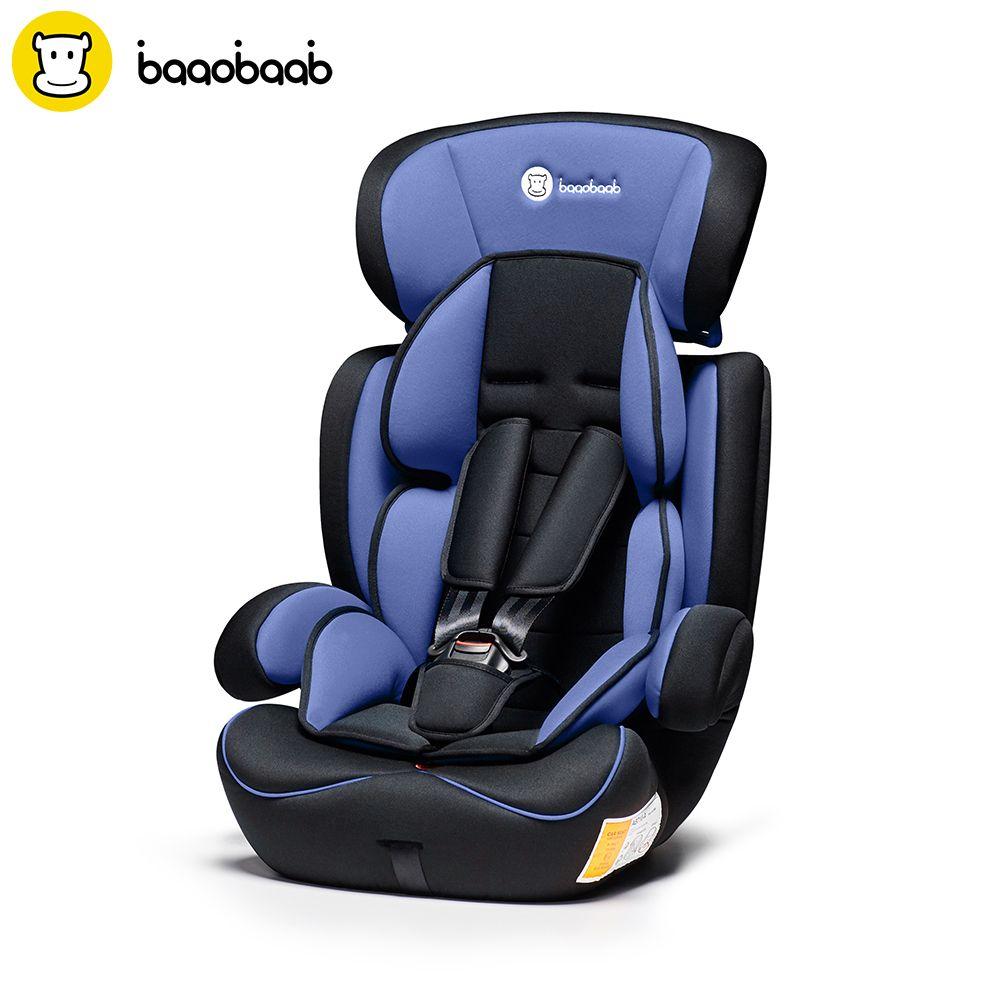 Baaobaab Регулируемый Детское Автокресло группы 1/2/3 (9-36 кг) ребенок Детская безопасность сиденье для 9 месяцев-для детей 12 лет