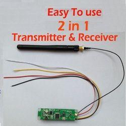 Livraison gratuite 1 pcs Sans Fil DMX 512 Contrôleur 2 en 1 Transmetteur et Récepteur PCB Module Pour DMX Éclairage de Scène, DMX512-PCB