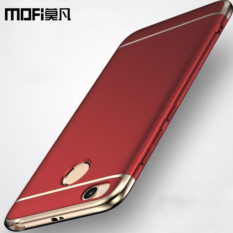 Xiaomi redmi 4x cas xiaomi redmi 4x couverture cas pare-chocs 3 dans 1 de luxe redmi4x 5.0 mofi xiaomi redmi 4x PRO cas redmi 4x cas