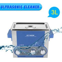 Clerance 3L Timer Dipanaskan Ultrasonic Cleaner Bath Ultrasonik Ultrasonik Mesin Cuci GTSONIC-P3 Uni Eropa