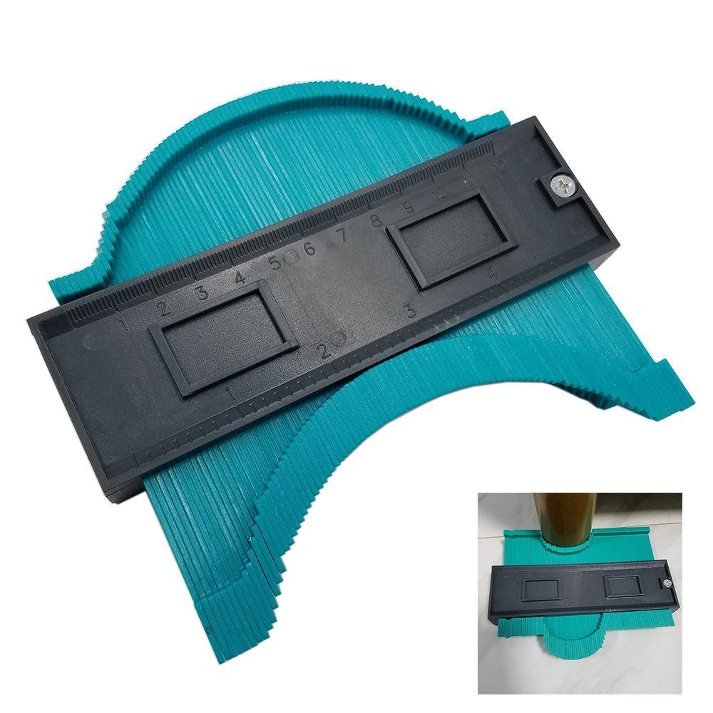 Plastic Profile Copy Gauge Contour Gauge Duplicator Standard 5 Width Wood Marking Tool Tiling Laminate Tiles General Tools