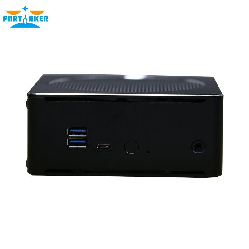 Teilhaftig B18 DDR4 Kaffee See 8th Gen Mini PC Intel Core i7 8750 H 32 gb RAM Intel UHD Grafiken 630 Mini DP HDMI WiFi