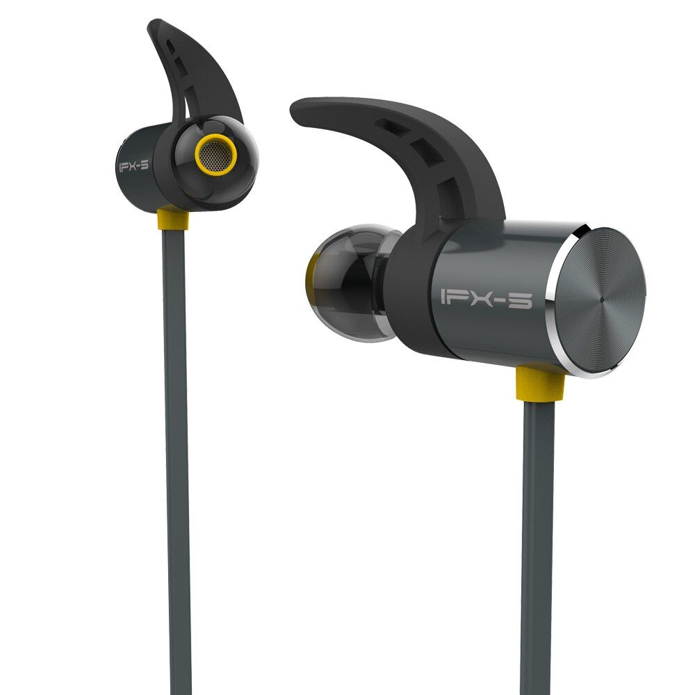 Plextone BX343 étanche Bluetooth écouteur métal magnétique sans fil Sport casque mains libres basse écouteurs avec micro pour IPhone LG