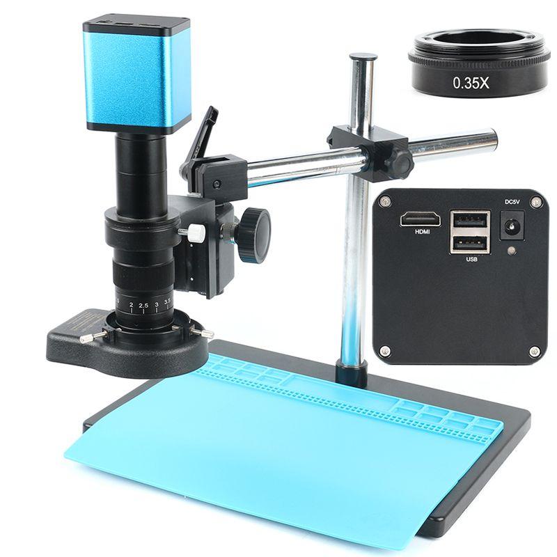 2019 FHD 1080P Industrie Autofokus SONY IMX290 Video Mikroskop Kamera U Disk Recorder CS C Mount Kamera Für SMD PCB Löten