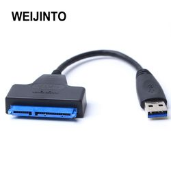 USB 3.0 to Sata adapter converter cable 22pin sataIII to USB3,0 adapters for 2.5