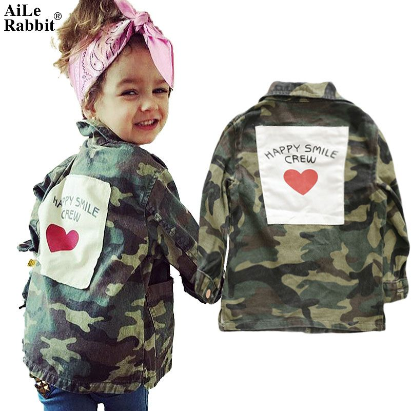AiLe Rabbit 2017 Children Winter Baby Parkas Outerwear Coats Boys and Girls Down Cotton Fashion Brother and Sister Zipper Jacket