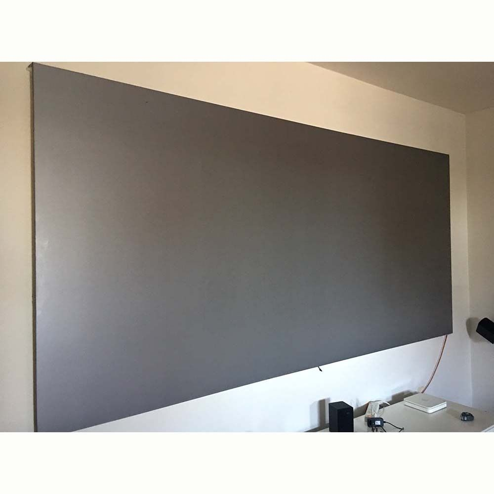 1.4x2.5m High Brightness Projector screen reflective cloth projection screen for XGIMI JMGO DLP LED LCD Projector Home Beamer