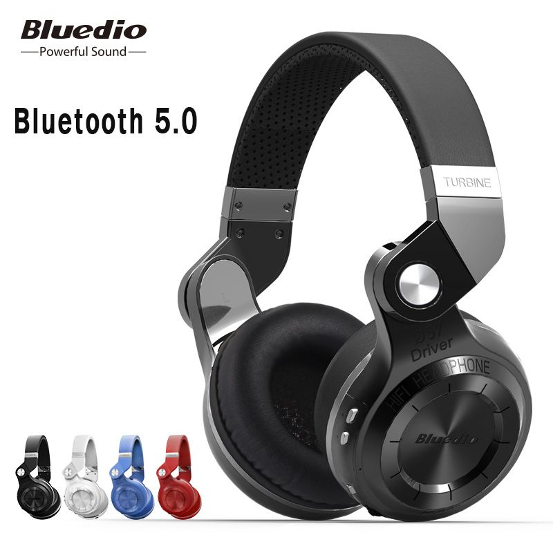 Casque bluetooth Original Bluedio T2S avec microphone casque sans fil bluetooth pour Iphone Samsung Xiaomi casque