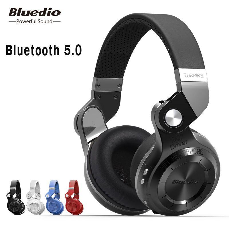 D'origine Bluedio T2S bluetooth casque avec microphone casque sans fil bluetooth pour Iphone Samsung Xiaomi casque