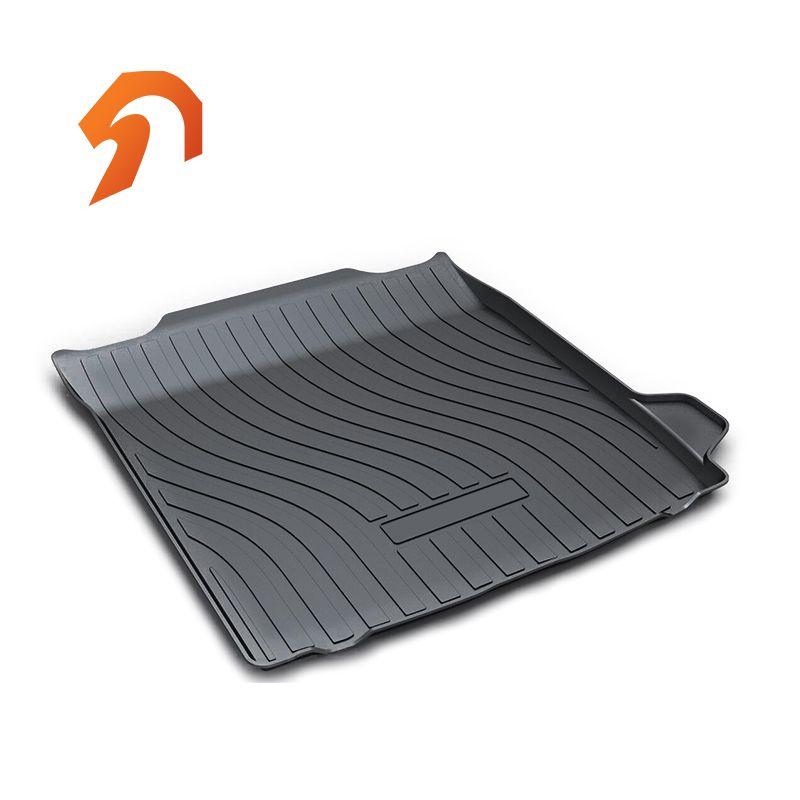 Rubber Rear Trunk Cover Cargo Liner Trunk Tray Floor Mats For VOLVO S90 2017 2018 Carpet Liner Mats
