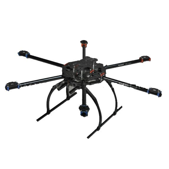 Tarot FY680 FPV Hexacopter Aircraft TL68B02 Folding Glass Fiber Tube Hexa copter For Aircraft Aerial RC FPV Photography
