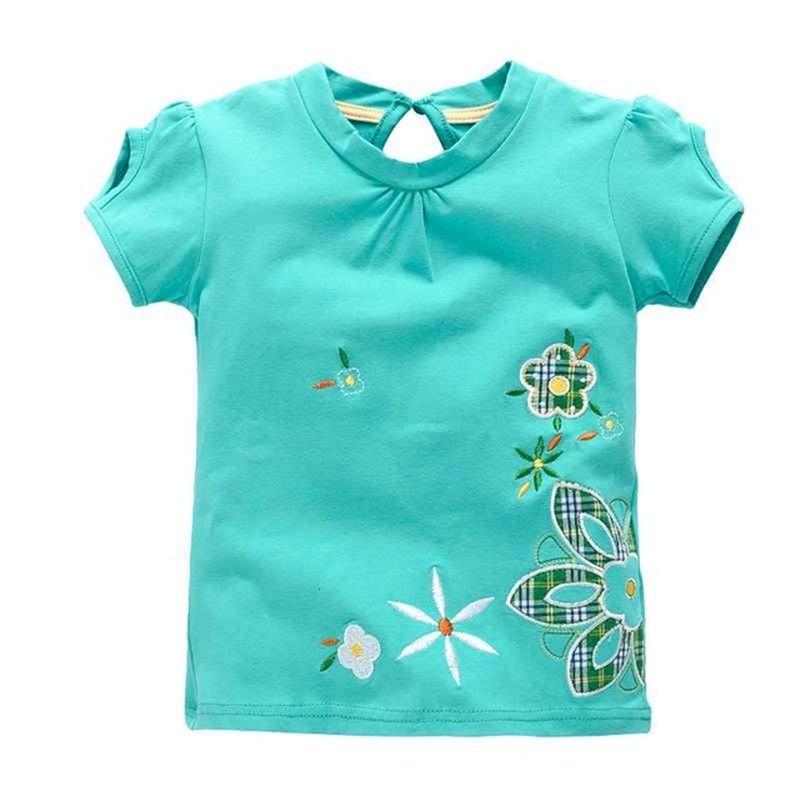 VIDMID fille t-shirt grandes filles t-shirts chemises enfants blouse t-shirts grande vente super qualité enfants vêtements d'été veste lapin rose