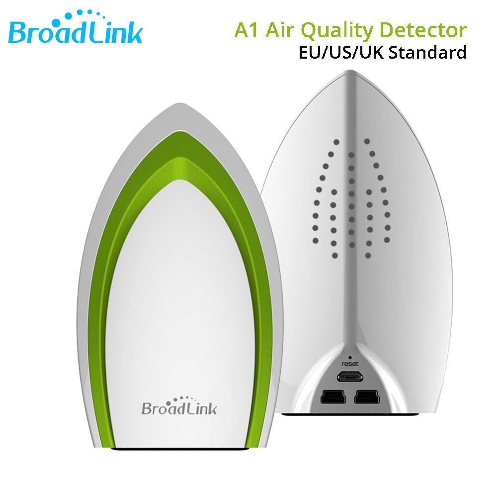Broadlink A1 E-air WIFI Air Quatily Détecteur de Température Humidité Capteur 4g Sans Fil Télécommande Modules D'automatisation Système