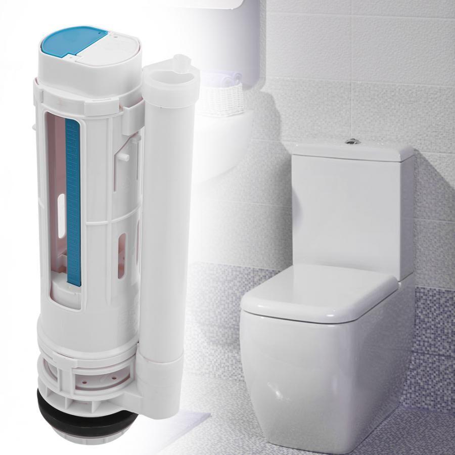 Split Toilet Drain Flush Cistern Valve Two-Button Toilet Water Outlet valve G1/2