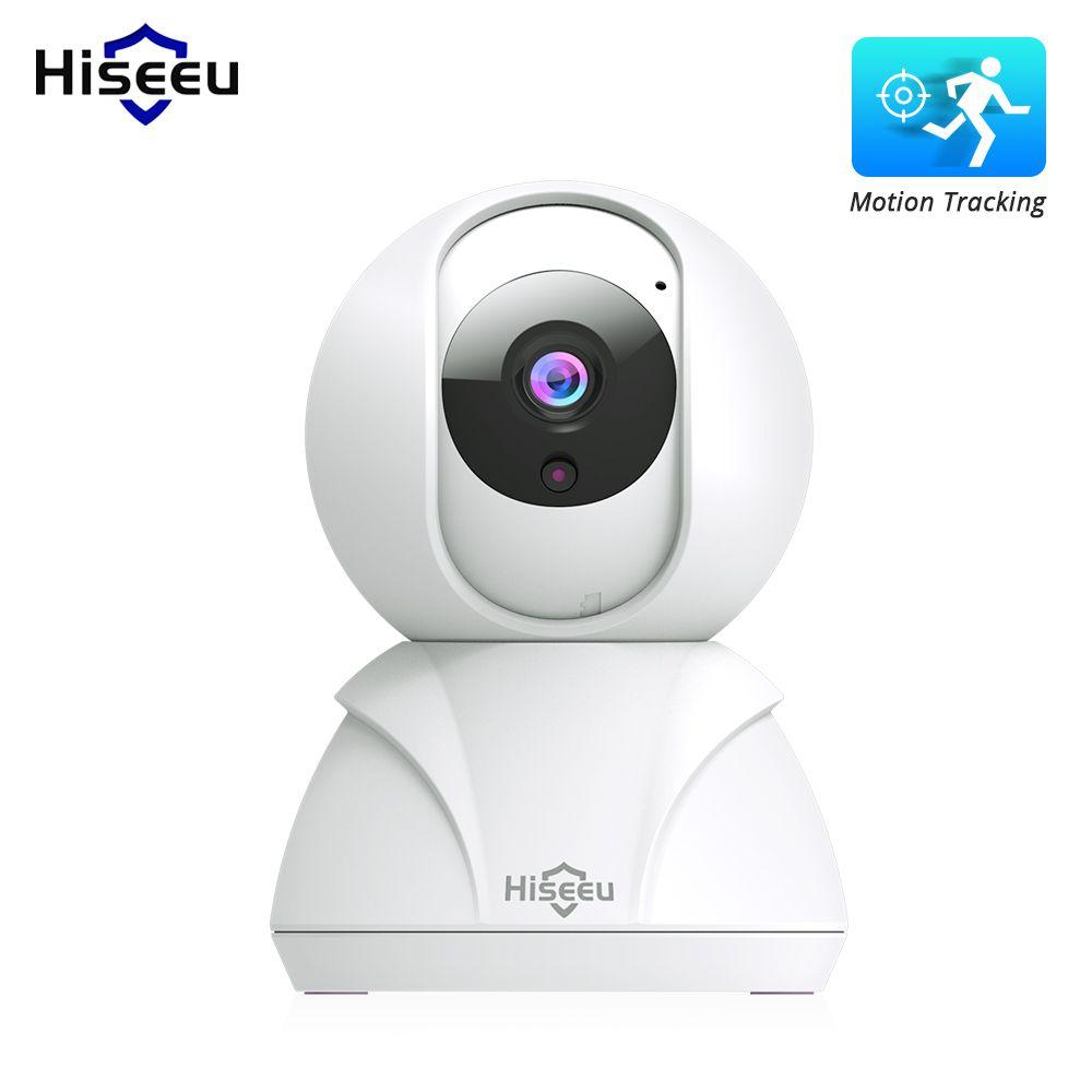 Hiseeu FH3 720 P/1080 P caméra IP 2MP WiFi sans fil réseau CCTV caméra caméra de sécurité à domicile IP bébé moniteur P2P Auto Motion Track
