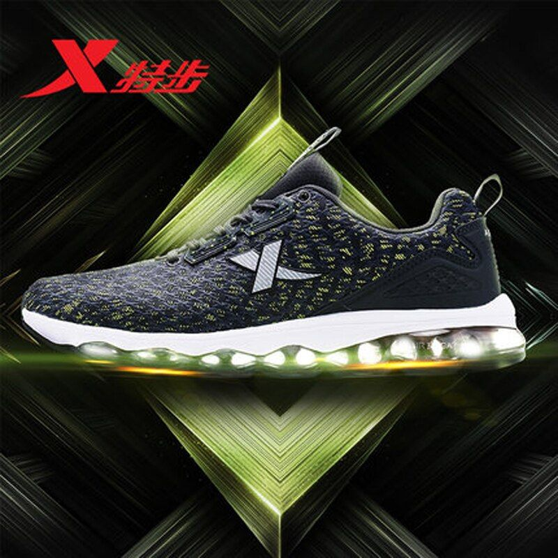 XTEP 2017 new Professional Men's Running Shoes Men Athletic Sneakers Outdoor Sports Trainers Shoes free shipping 982119119087