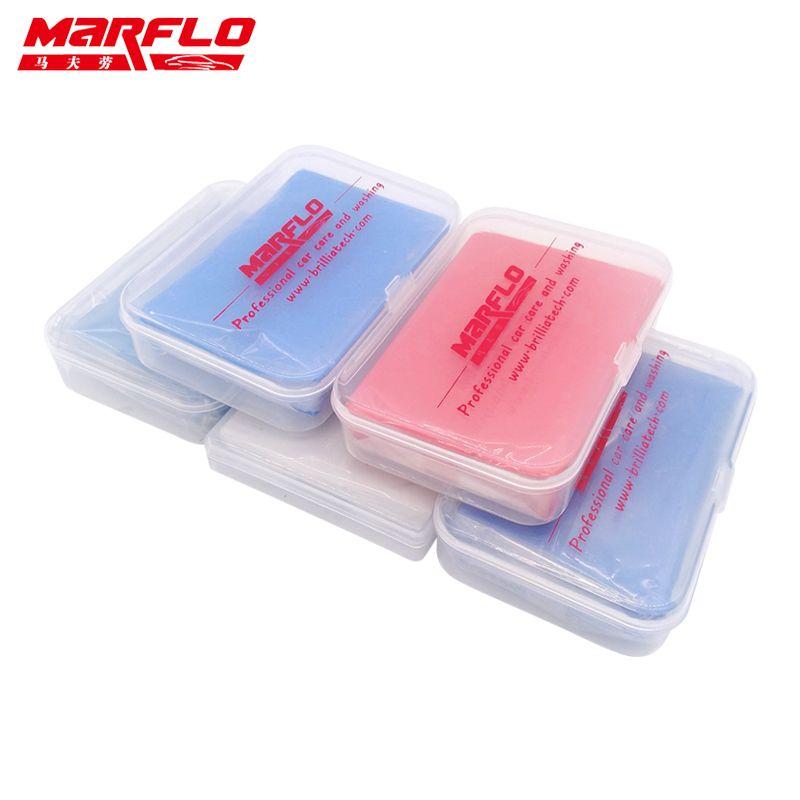 Marflo Car Wash Detailing Magic Clay Bar 100g Fine Medium King Grade Heavy 80g Detail Bar
