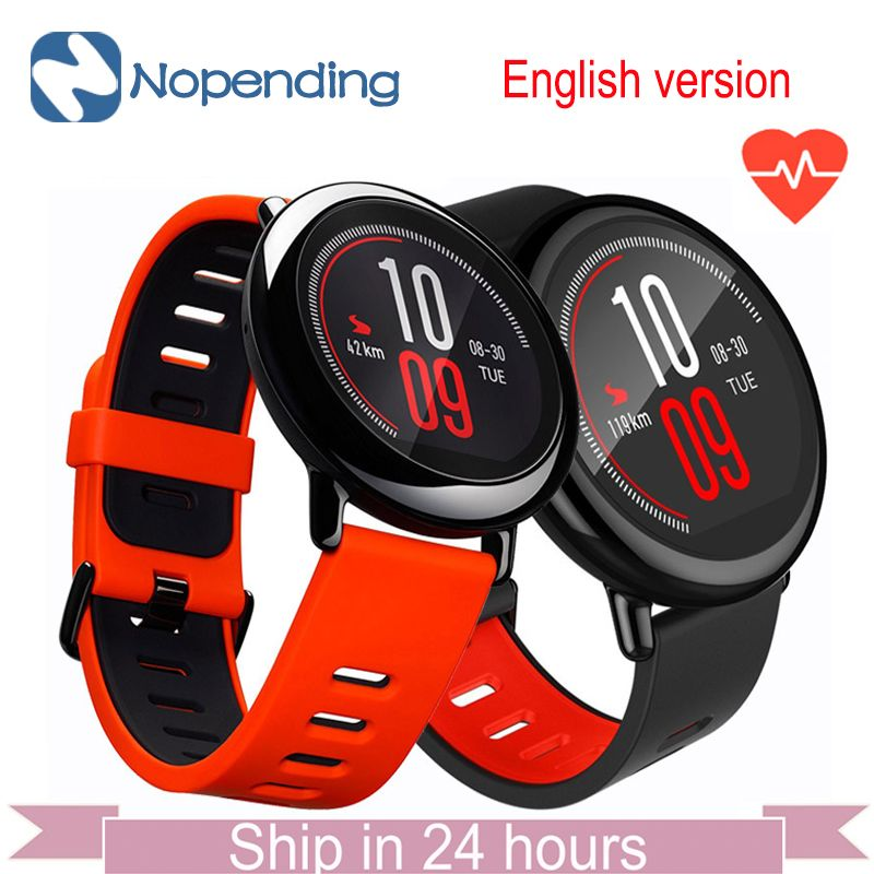 [English Version] NEW Original HUAMI AMAZFIT Pace Sport Smart Watch Smartwatch Bluetooth WiFi 1.2GHz 512MB/4GB GPS Heart Rate